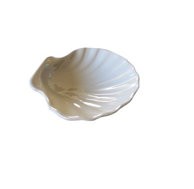Coupelle Coquillage Blanche