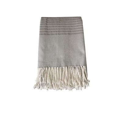 Fouta XXL rectangle 3*2 (gris)