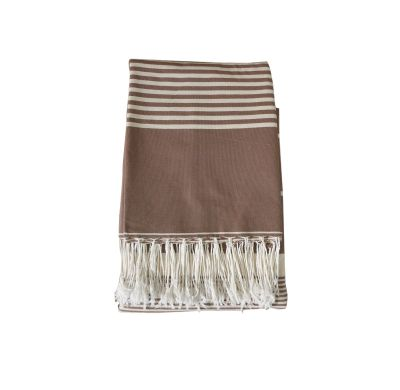 Fouta XXL rectangle 3*2 (marron)