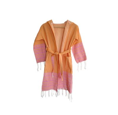 Fouta Peignoir Enfant Nabeul Orange